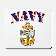 Navy - NAVY - SCPO Mousepad