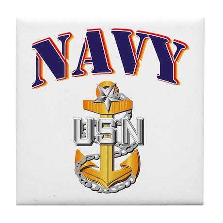 Navy - NAVY - SCPO Tile Coaster