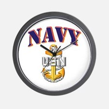 Navy - NAVY - SCPO Wall Clock