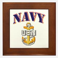 Navy - NAVY - SCPO Framed Tile