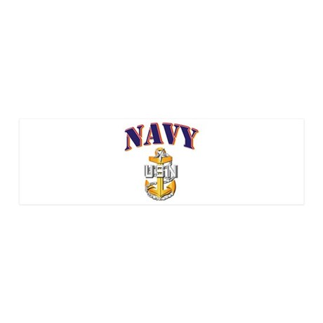 Navy - NAVY - SCPO 20x6 Wall Decal