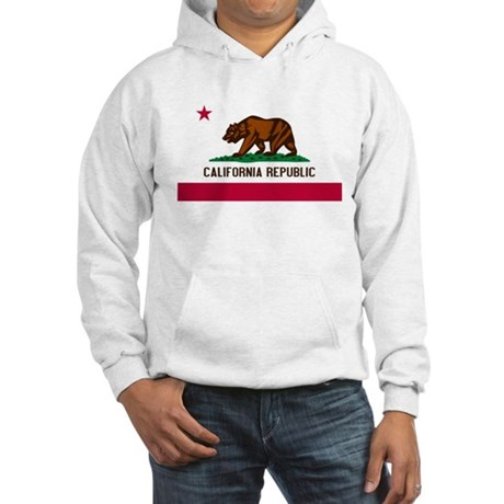 California Republic Hoodie Hooded Sweatshirt