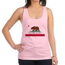 California Republic Shirt Racerback Tank Top