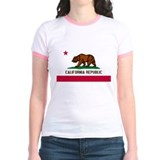 California republic Jr. Ringer T-Shirt
