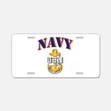 Navy - NAVY - CPO Aluminum License Plate
