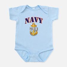 Navy - NAVY - CPO Infant Bodysuit