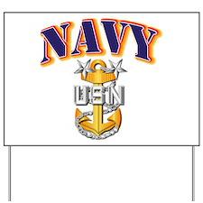 Navy - NAVY - MCPO Yard Sign