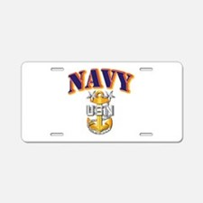 Navy - NAVY - MCPO Aluminum License Plate