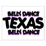 Belly Dance Texas Small Poster