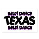 Belly Dance Texas Postcards (Package of 8)