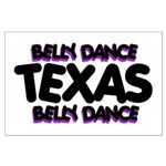 Belly Dance Texas Large Poster