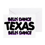 Belly Dance Texas Greeting Cards (Pk of 10)