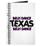 Belly Dance Texas Journal