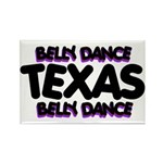 Belly Dance Texas Rectangle Magnet (10 pack)