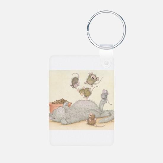 Kitty Trampoline Keychains