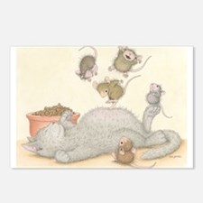 Kitty Trampoline Postcards (Package of 8)