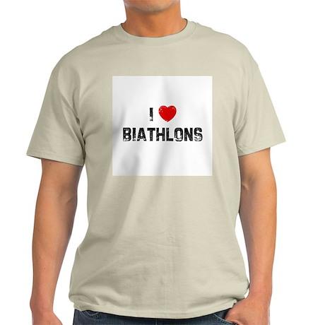 I * Biathlons Ash Grey T-Shirt