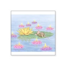 Lily Pad Snooze Sticker