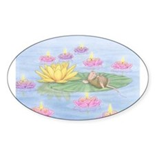 Lily Pad Snooze Decal
