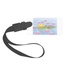 Lily Pad Snooze Luggage Tag