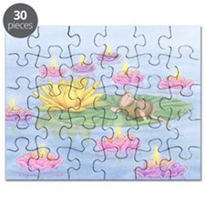 Lily Pad Snooze Puzzle