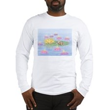 Lily Pad Snooze Long Sleeve T-Shirt