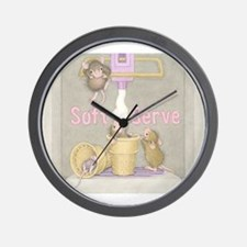 Ice Cream Delight Wall Clock