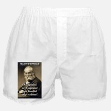 O Captain My Captain - Whitman Boxer Shorts