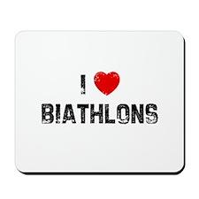 I * Biathlons Mousepad