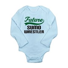 Future Sumo Wrestler Long Sleeve Infant Bodysuit
