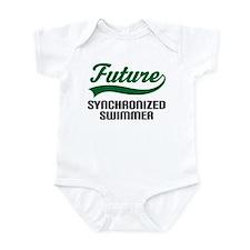 Future Synchronized Swimmer Infant Bodysuit