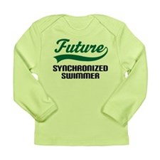 Future Synchronized Swimmer Long Sleeve Infant T-S