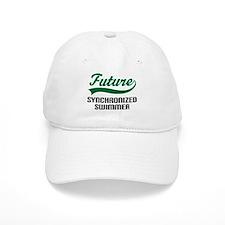 Future Synchronized Swimmer Baseball Cap