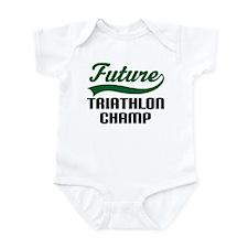Future Triathlon Champ Infant Bodysuit