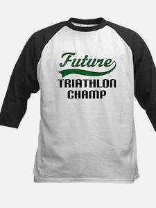 Future Triathlon Champ Kids Baseball Jersey