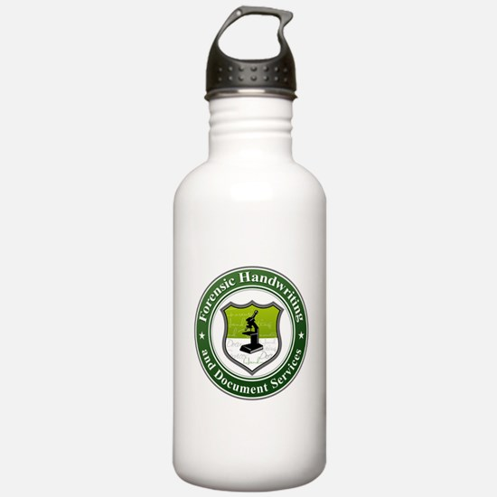 ForensicHandwriting Water Bottle