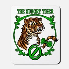 The Hungry Tiger Mousepad