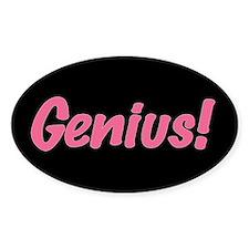 Pink Genius Decal