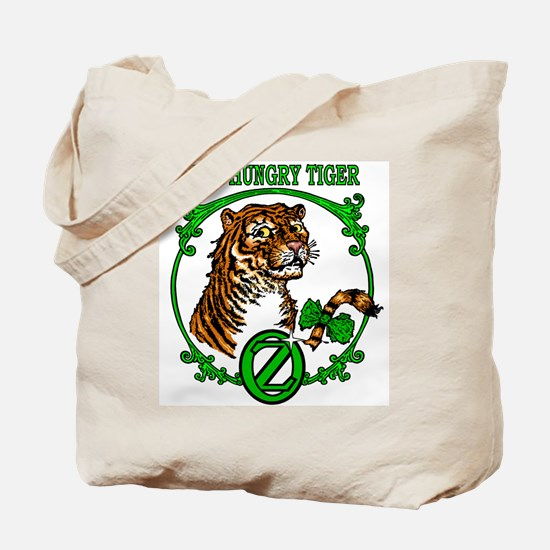 The Hungry Tiger Tote Bag