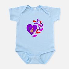 Rooster Heart Infant Bodysuit
