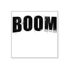"boom.png Square Sticker 3"" x 3"""