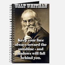 Keep Your Face Always Toward - Whitman Journal