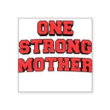 "one-strong.png Square Sticker 3"" x 3"""