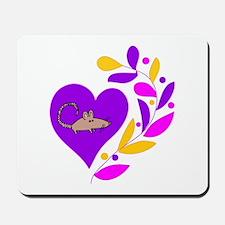 Rat Heart Mousepad