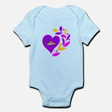 Rat Heart Infant Bodysuit
