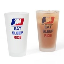 2-Eatsleepride copy.png Drinking Glass