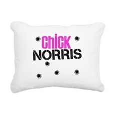chick-norris.png Rectangular Canvas Pillow