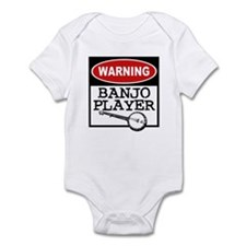 Warning Banjo Player Infant Bodysuit