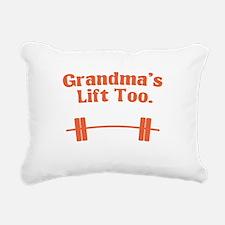 grandmas.png Rectangular Canvas Pillow