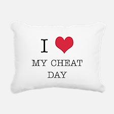 I-HEART-CHEATDAY.jpg Rectangular Canvas Pillow